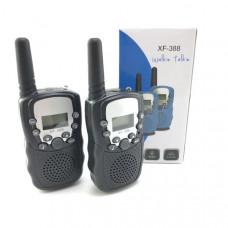 Рация 2шт Орбита Т-388, до 3км, Black (управление голосом, 10сигналов вызова, функция сканирования, функция блокировки клавиш, индикация заряда)