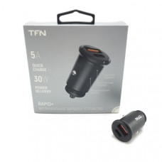 АЗУ-2 USB TFN RAPID 5A QC/PD Black