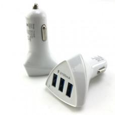 АЗУ-3 USB CAR CHARGER, 4,2А, White