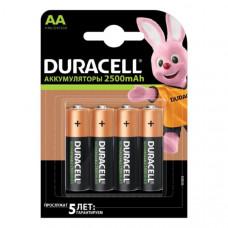 Аккумулятор DURACELL R06 (2500mAh) BL4
