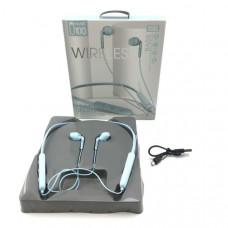 Гарнитура вакуумная Bluetooth SPORTS U100 Blue Диапазон передачи: 10-15м.  Время воспроизведения музыки:  более 5 часов. Емкость аккумулятора: 300мАч