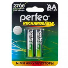 Аккумулятор Perfeo R06 2700mAh BL-2