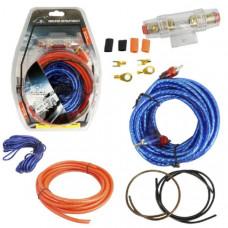 Набор кабелей для автоакустики MD-6 ( 4,5м, комплект для 2-х канального усилителя)