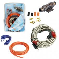 Набор кабелей для автоакустики MD-02 (5м, комплект для 2-х канального усилителя)
