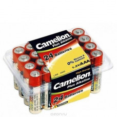 Батарейка Camelion LR03 Plus Alkaline box-24 (24)
