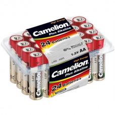 Батарейка Camelion LR06 Plus Alkaline box-24 (24)