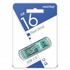 USB флеш-диск 16Gb Smart Buy Glossy series Green