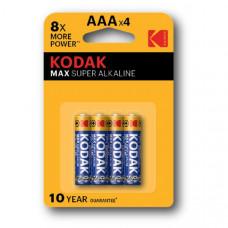 Батарейка Kodak LR03 MAX BL-4 (40)