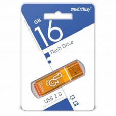 USB флеш-диск 16Gb Smart Buy Glossy series Orange