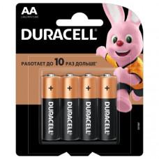 Батарейка Duracell LR06 Alkaline BL-4 (4/48/192/18816)