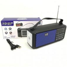 Радиоприемник портативный NNS NS-S159s (цвета в ассортименте) Bluetooth, FM, microSD, USB, AUX. Размер: 12х4,5х9,2 см