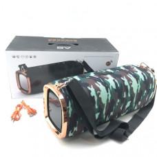 Портативная колонка A6 Camouflage green Bluetooth, microUSB,AUX,FM Длина 35 х Ширина 12