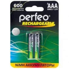 Аккумулятор Perfeo R03 600mAh BL-2