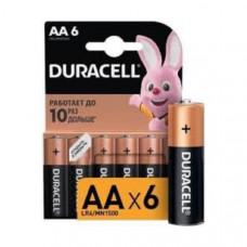 Батарейка Duracell LR06 Alkaline BL-6 BASIC (6/60/16800)