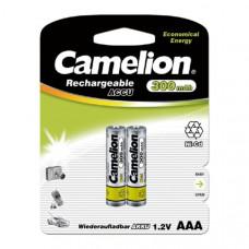 Аккумулятор Camelion R03 (300 mAh) (2 бл)   (2/24/480)