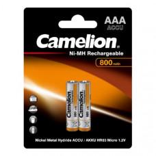 Аккумулятор Camelion R03 (AAA)-800mAh Ni-Mh Bl-2 (2/24/480)