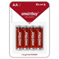 Батарейка SmartBuy LR6  BL-4   (48/480)