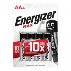 Батарейка Energizer LR06 MAX BL-4 (96)