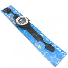 Часы наручные электронные S-SHOCK SPORTS GEARS, цвет:черный