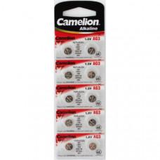 Батарейка Camelion AG3 (392A) LR41
