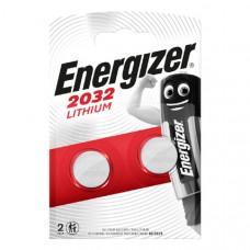 Батарейка ENERGIZER CR 2032  BL2  (2/20/200)