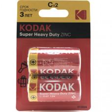 Батарейка KODAK R14 Heavy Duty BL2 (KCHZ-2)