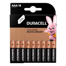 Батарейка Duracell LR03 BL18 BASIC