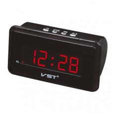 Часы настольные VST 728-1 (Красные цифры) Размер: 150х87х55 мм