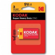 Батарейка Kodak 6F22 Super Heavy Duty BL1