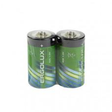 Батарейка Ergolux R20 SH2