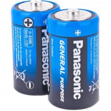 Батарейка Panasonic R20 SH2