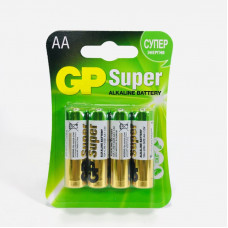 Батарейка GP LR6 BL-4 SUPER