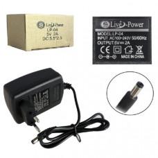 Блок питания Live Power LP-04 5V 2A штекер 5,52,5
