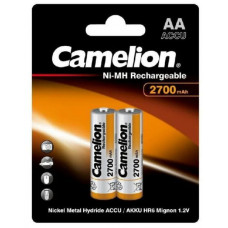 Аккумулятор Camelion R06 2700mAh Ni-Mh BL-2 (24)