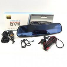 Видеорегистратор зеркало + камера заднего вида HAD-68 Дисплей 4,3 TFT  Процессор Количество камер 2 Разрешение основной камеры 1080P (19201080) 720P (1280720)        Разрешение дополнительной камеры 1 640х480  Разрешение дополнительной камеры 2     Форм