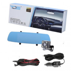 Видеорегистратор зеркало + камера заднего вида Орбита TDS TS-CAR14 (HAD-75) Дисплей 6.7 TFT - сенсорный Количество камер 2 Разрешение основной камеры 1080P (1920х1080) 720P (1280х720)        Разрешение дополнительной камеры 1 640х480  Формат записи видео