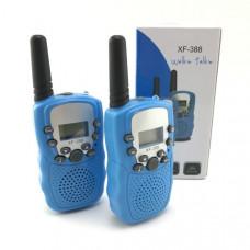 Рация 2шт Орбита Т-388, до 3км, Blue (управление голосом, 10сигналов вызова, функция сканирования, функция блокировки клавиш, индикация заряда)