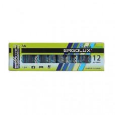 Батарейка Ergolux LR06 Alkaline box-12