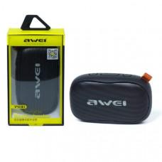 Портативная колонка AWEI Y900 Black (Bluetooth V4.2, MicroUSB, время работы от 3 до 5 часов,). Размер: длина 12,5 см, ширина 7 см