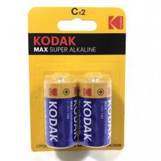 Батарейка Kodak LR14 MAX SUPER ALKALINE BL-2