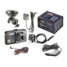 Видеорегистратор Artway 394 (основная камера 19201080 25к/сек, выносная камера 640480, 25к/сек, угол обзора: основная камера 120 градусов, выносная 90 градусов, размер дисплея 3,0, тип карты памяти microSD 8-32гб, 10 класс)