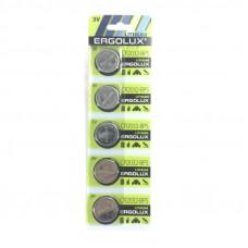 Батарейка ERGOLUX CR2032 BL-5